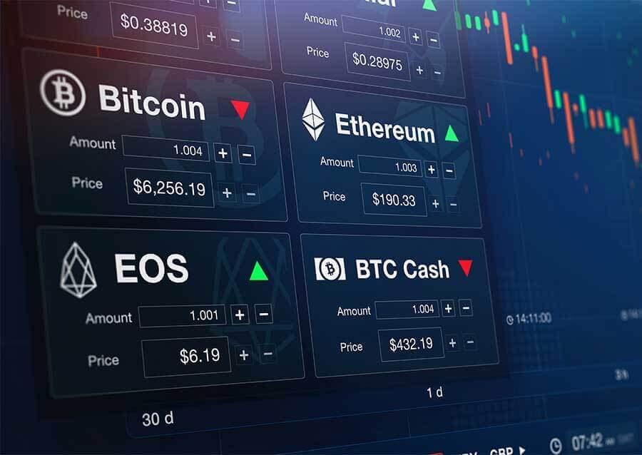 AutoTrade Cripto muniti Bitcoin ethereum litecoin