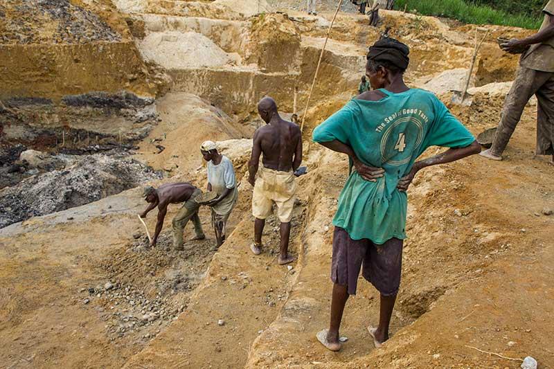 goldni ọna gold Sierra Leone